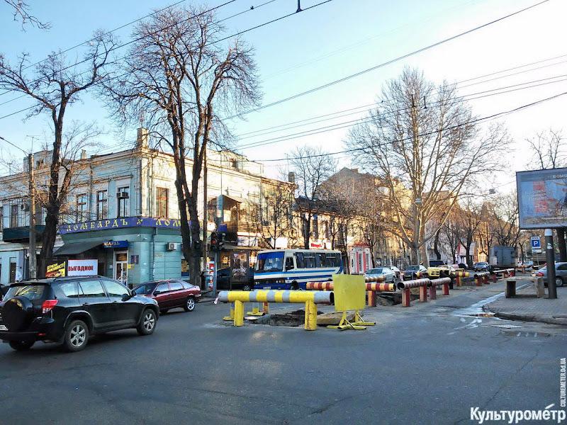 20151207_144349 Хаос в центре Одессы