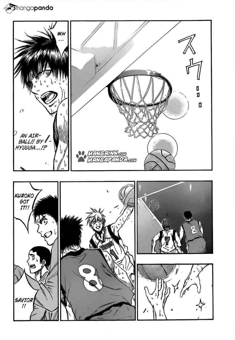 Kuroko no Basket Manga Chapter 198 - Image 10