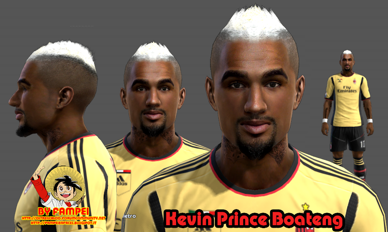 Kevin-Prince Boateng Face - PES 2013