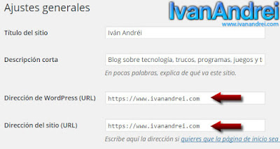 HTTPS en WordPress