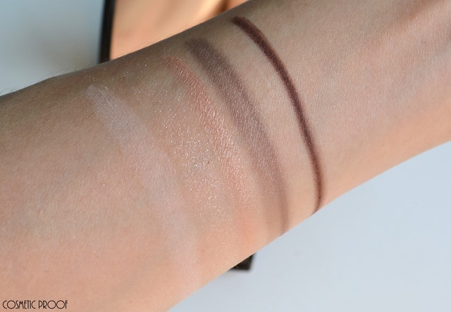 Diorshow 5 Couleurs Designer Nude Pink Design Eyeshadow Palette Review Swatches  (8)