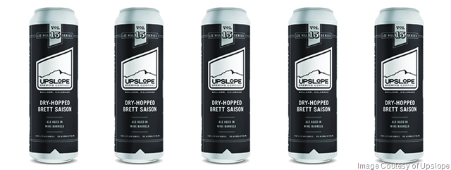 Upslope Announces Lee Hill Series Vol 15 Dry-Hopped Brett Saison Cans