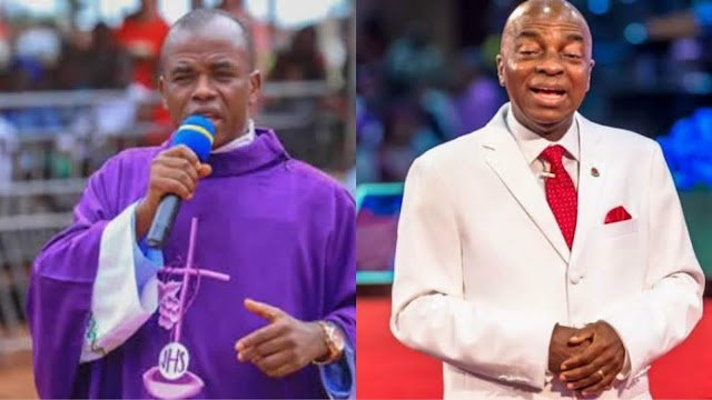 """US Should Deny Mbaka's Visa"" - Nigerians React to Bishop Oyedepo's Visa Issue"