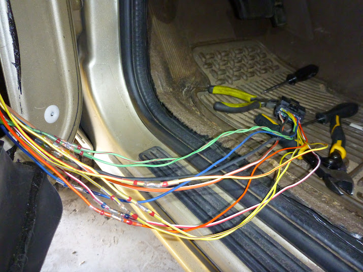 1995 Jeep Grand Cherokee Laredo Door Wiring Harnes