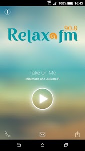 Relax FM screenshot 0
