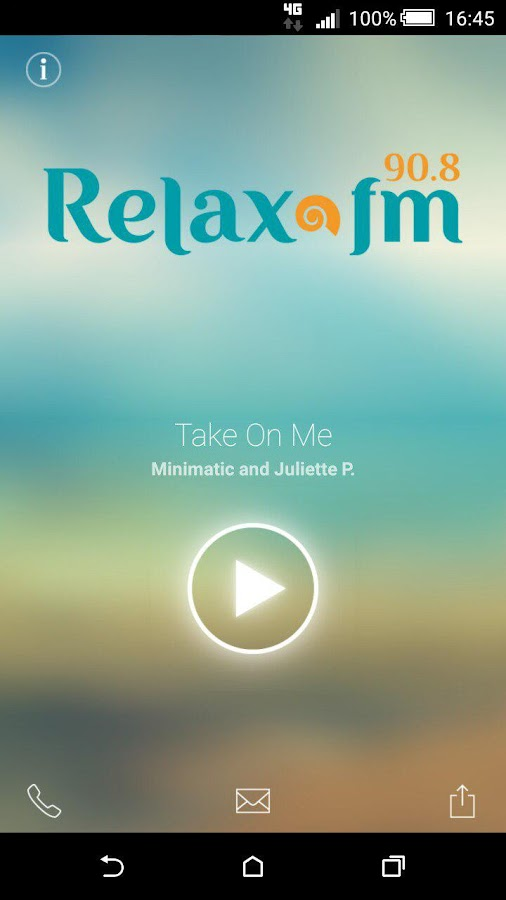 Relax FM- screenshot