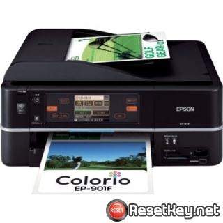 Reset Epson EP-901F Waste Ink Pads Counter overflow error