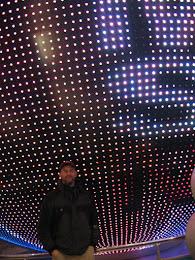 Jorma in lights.