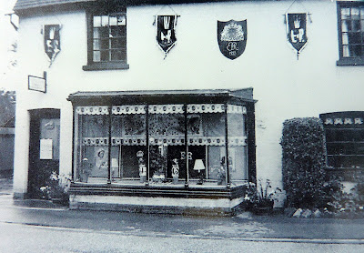The post office, Church Street, little Shelford at the time of the Coronation