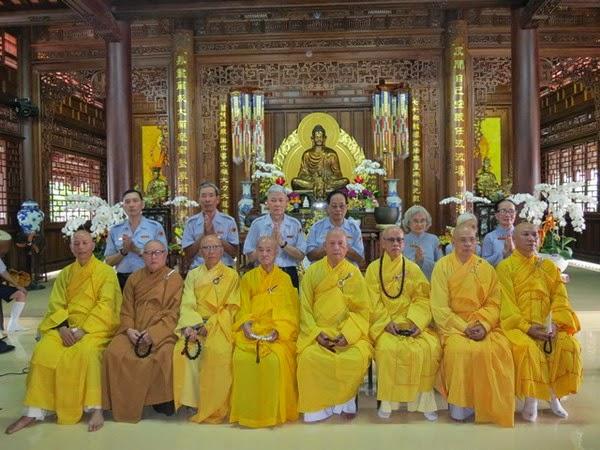 Gia Đình Phật Tử Việt Nam tân thăng 7 Huynh Trưởng cấp Dũng