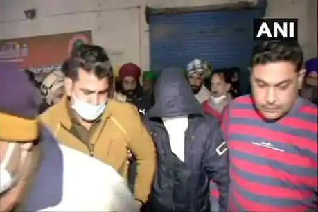 farmar protest : सिंधु बॉर्डर पे पकड़ा गया ,शूटर , बोला 26         जनवरी को मारने वाले थे किसान को