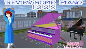 ID Rumah Piano di Sakura School Simulator Dapatkan Disini