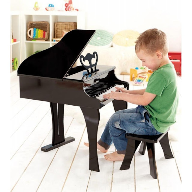 Đàn Dương cầm Hape Happy Grand Piano là món quà yêu thích dành cho bé