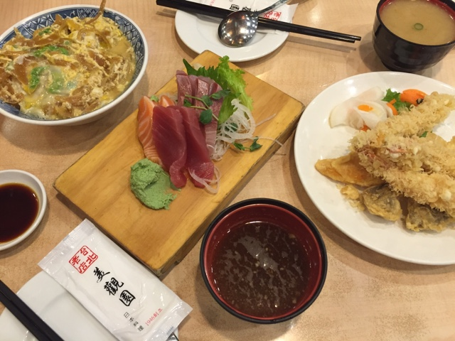 Japanese food in Ximending Taipei Taiwan