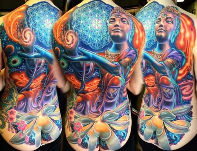 Este colorido criação cósmica