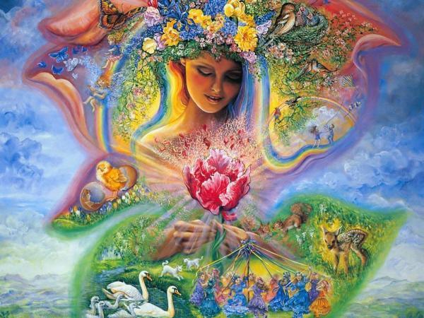 Goddess And World, Goddesses