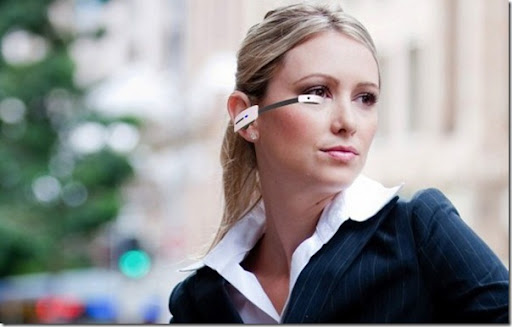 Future technology Another concept of smart glasses