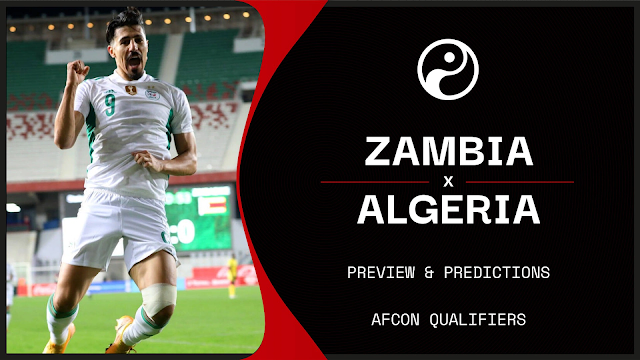 Watch Live Stream Match: Zambia  vs  Algeria | Afcon Qualifiers