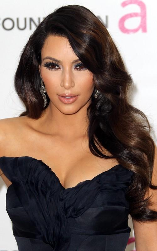 kim kardashian 2011 oscars. Kim Kardashian at Elton John#39;s