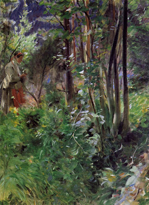 Anders Zorn - A Woman in a Forest