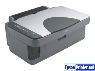 Reset Epson RX420 laser printer with software