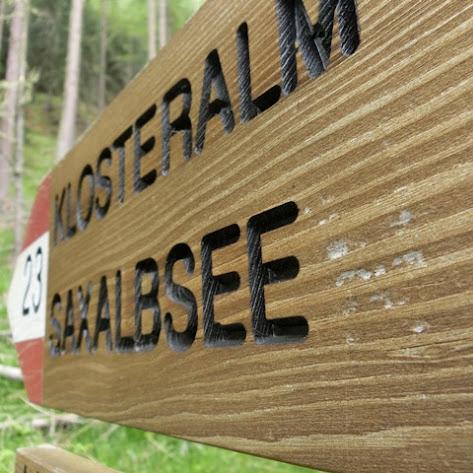 Hauswanderung Schulerhof Saxalbsee Klosteralm im Juni 2015