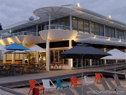 Beachfront restaurant, Bathers Beach, Perth's restaurant