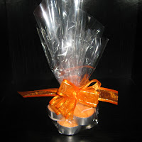 Jasmine Tealights, orange