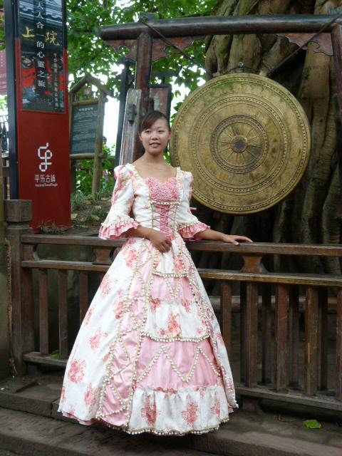 CHINE.SICHUAN.PING LE à 2 heures de Chengdu. Ravissant .Vallée des bambous - P1070514.JPG