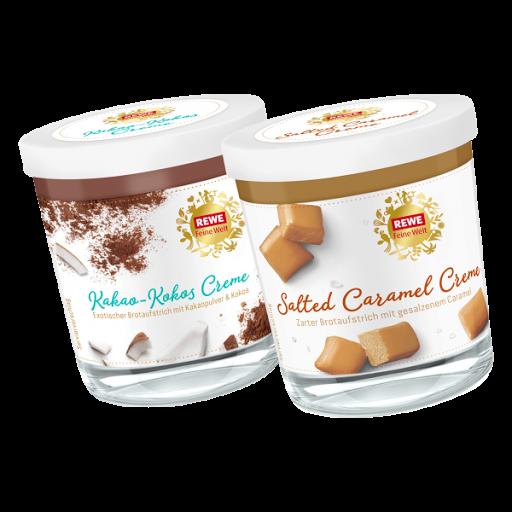 Moni´s Blog: REWE Feine Welt Salted Caramel und Kakao ...