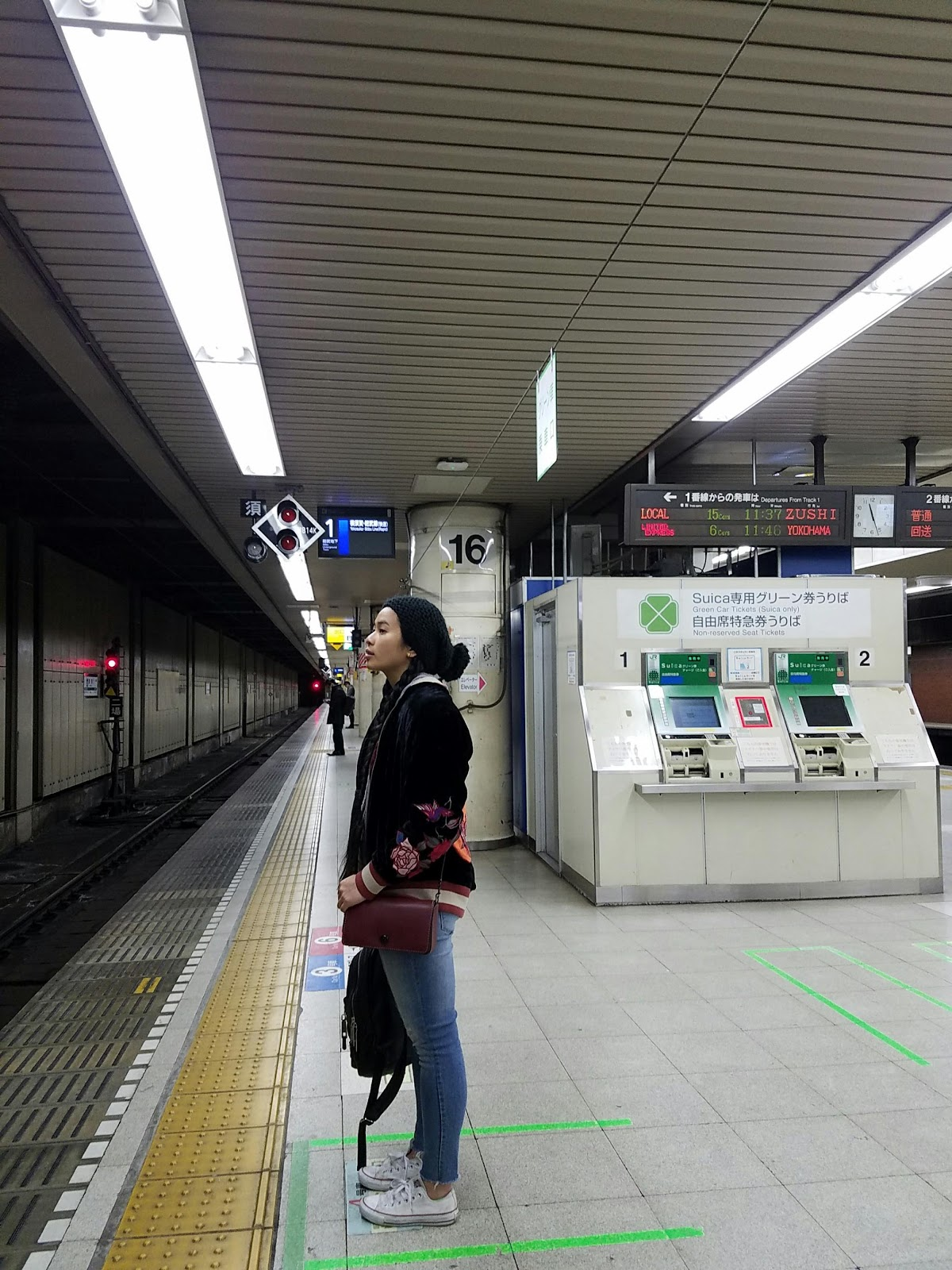Empty subway station ootd tokyo travel guide