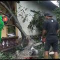 Angin Kencang Sapu Puluhan Atap Rumah Dan Pohon di Dua Desa di Kecamatan Sumobito