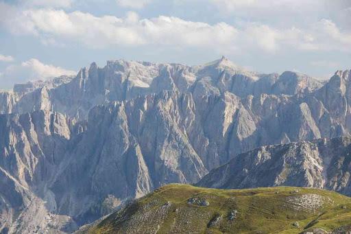 Paysage des Dolomites.