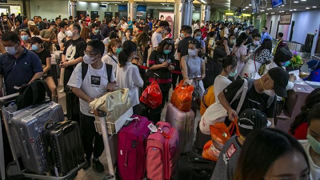 Ribuan WN China di Bali Banyak Ajukan Perpanjang Izin Tinggal Darurat