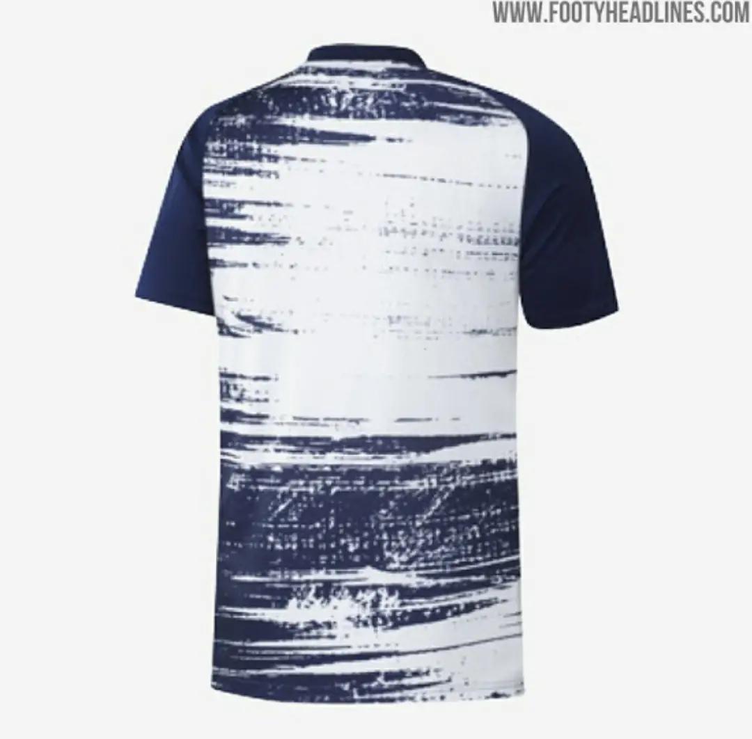 gambar foto jersey real madrid prematch musim 2020-2021