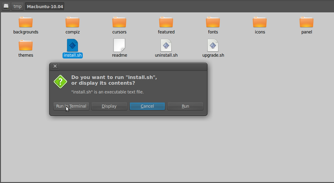 Ubah Ubuntu jadi Mac 1