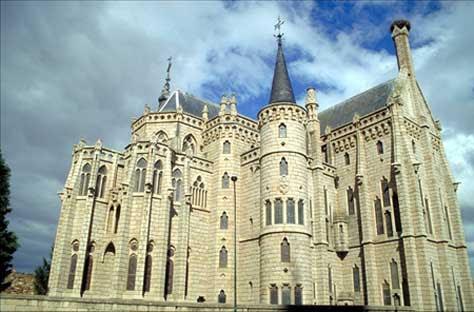 """Gaudí, Palacio Episcopal de Astorga"""" width="""