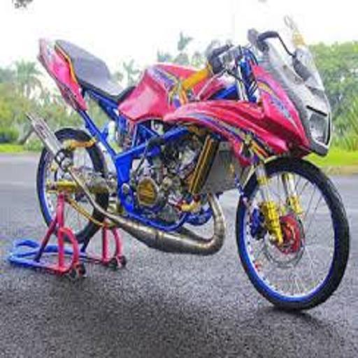 Modifikasi Motor Ninja Modern .
