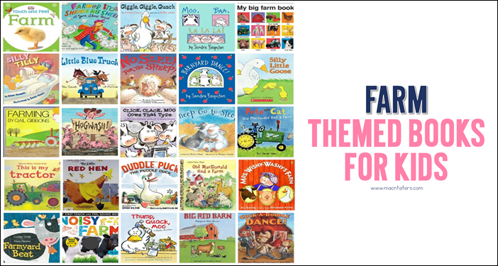 Farm Themed Books for Kids