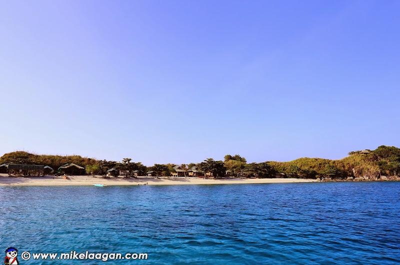 Approaching Sambawan Island