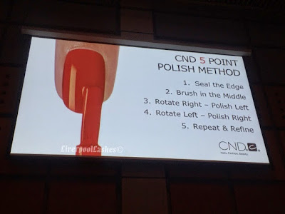 cnd 5 point polish method shellac nails liverpoollashes liverpool lashes video