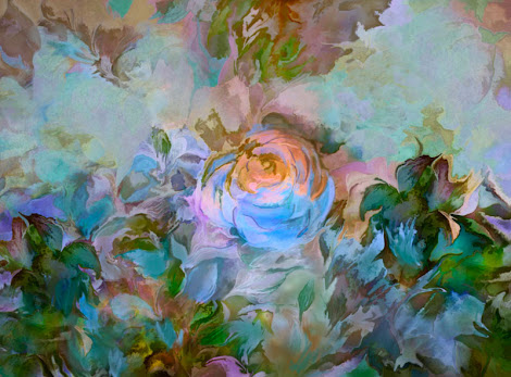 """The """"Blue Rose"""" piece from the """"2013"""" collection"""
