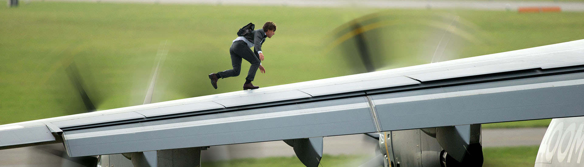Baner filmu 'Mission: Impossible - Rogue Nation'