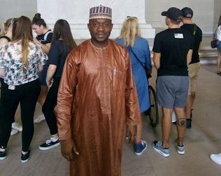 Photos: Nigerian journalist, Tijani Ado Ahmad, slumps and dies in the US