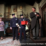 Don Wheeler, Cindy Welch, Debbie May, Richard Messina, Michael Rzepka and Robert Hegeman in ARSENIC AND OLD LACE (R) - May 2011.  Property of The Schenectady Civic Players Theater Archive.
