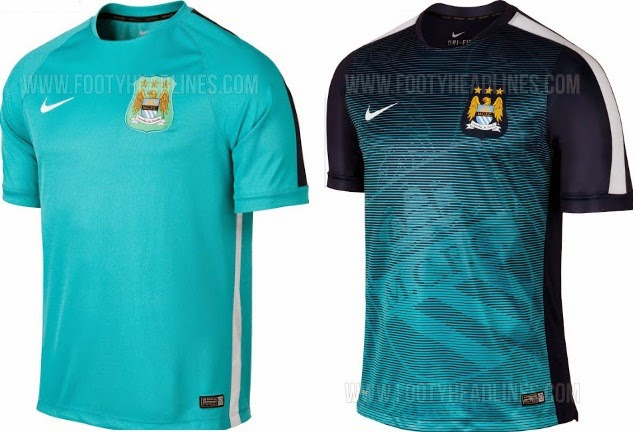 Nike Man Utd   Barcelona 2015 Training Pre-Match Kits Released 014294048c89
