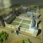 Château de Vincennes : maquette du château (exposée dans la Sainte-Chapelle)