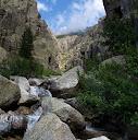 Remontée du ruisseau de Furmicuccia jusqu'aux étroitures
