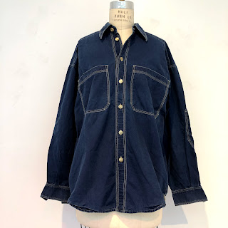 Versace Jeans Couture Lightweight Denim Shirt