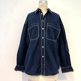 Versace Jeans Couture Lightweight Denim Shirt